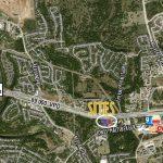 Loop 1604 Frontage Site 2019 aerial